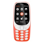 Nokia 3310 Single SIM 2017 Red, A00028219
