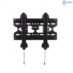 """4W Fixní držák pro LCD 15-43"""" SLIM nosn. 45kg BLK, 07464-BLK"""