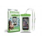 SEAWAG Voděodolné pouzdro pro telefon Bílá/Zelená, SEAWAG_W4X