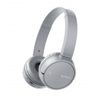 SONY sluchátka MDR-ZX220BT bezdr. HF, NC, šedá, MDRZX220BTH.CE7