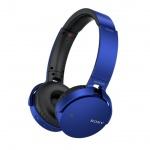 SONY sluchátka MDR-XB650BT bezdr.handsfr, modré, MDRXB650BTL.CE7