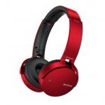 SONY sluchátka MDR-XB650BT bezdr.handsfr, červené, MDRXB650BTR.CE7