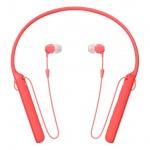 SONY sluchátka WIC400R.CE7 bezdr.,červená, WIC400R.CE7