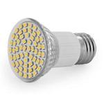 WE LED žárovka 60xSMD 3W E27 teplá bílá - refl, 08267