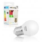 Whitenergy WE LED žárovka SMD2835 B45 E27 5W teplá bílá, 10222