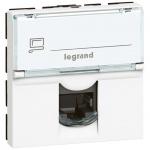 Legrand LCS2 MOSN 1XRJ45 UTP C6 2M BI STP kovové stínění, 076576