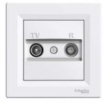 Schneider Electric Asfora - zásuvka TV-R, koncová - 1 dB - bílá, EPH3300121
