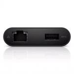 Dell Adaptér USB-C na HDMI/VGA/Ethernet/USB 3.0, 470-ABRY
