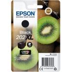 EPSON singlepack,Black 202XL,Premium Ink,XL, C13T02G14010