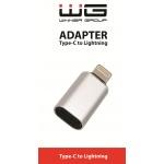 Type C to Lightning adaptér/silver/paper box/NWW06