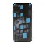 Pouzdro 3D Glowing Cubes iPhone 7/8 (Černo-modré)