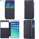 Nillkin Sparkle Leather case window Iphone 5/5S/SE tmavě modrá