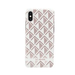 SoSeven Fashion Paris White/Rose Gold Triangle Cover pro iPhone X/XS, 2442446