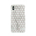SoSeven Fashion Milan Hexagonal Marble White/Rose Gold pro iPhone X/XS, 2442448