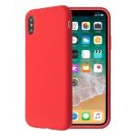SoSeven Smoothie Silikonový Kryt pro iPhone X/XS Red (EU Blister), 2445503