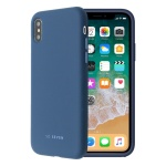 SoSeven Smoothie Silikonový Kryt pro iPhone X/XS Navy Blue (EU Blister), 2445504