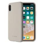 SoSeven Smoothie Silikonový Kryt pro iPhone X/XS Stone Grey (EU Blister), 2445506