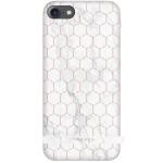 SoSeven Milan Case HoneyComb Marble White Kryt pro iPhone 6/6S/7/8