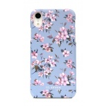 SoSeven Fashion Tokyo Blue Cherry Blossom Flowers Cover pro iPhone XR