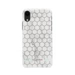 SoSeven Fashion Milan Hexagonal Marble White/Rose Gold pro iPhone XR