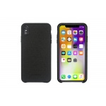 SoSeven Premium Gentleman Case Fabric Black Kryt pro iPhone XS Max, 2441757
