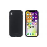 SoSeven Smoothie Silikonový Kryt pro iPhone XS Max Black (EU Blister), 2445522