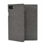 SoSeven Premium Gentleman Book Case Fabric Grey pro iPhone 6/6S/7/8, 2442454