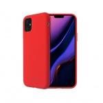 SoSeven Smoothie Silikonový Kryt pro iPhone 11 Red (EU Blister), 2449402