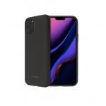 SoSeven Smoothie Silikonový Kryt pro iPhone 11 Pro Max Black (EU Blister), 2449400
