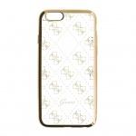 GUHCPSETR4GG Guess 4G TPU Pouzdro Gold pro iPhone 5/5S/SE, 30553
