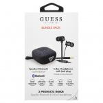 GUBPERSPBK Guess Bundle In-Ear Headphones + Bluetooth Speaker Black (EU Blister), 2442735