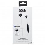 CGBTE07 Karl Lagerfeld Bluetooth Stereo Headset White (EU Blister), 2440883