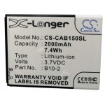 CS-CAB150SL Baterie 2000mAh Li-Pol pro CAT B15, 2438339