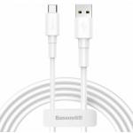 Baseus CATSW-02 Mini White Kabel USB-C 3A 1m White, 57983104543