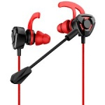 USAMS EP-27 In-Ear Gaming Stereo Headset 3,5mm Red, 2441247