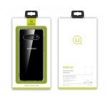 USAMS Primary TPU Zadní Kryt Transparent pro Samsung Galaxy S10 Plus, 2443005