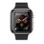 USAMS BH486 TPU Full Protective Pouzdro pro Apple Watch 44mm Transparent (EU Blister), 2444474