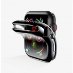 USAMS BH486 TPU Full Protective Pouzdro pro Apple Watch 44mm Transparent (EU Blister), 2444474