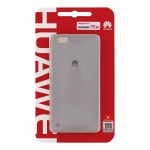 Huawei Original Protective Pouzdro 0.8mm Light Grey for P8 Lite (EU Blister), 25683