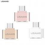 USAMS Adapter USB/microUSB/OTG White (EU Blister), 28227