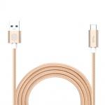 Nillkin Elite Type C USB 3.0 Datový Kabel Gold (EU Blister), 31322