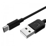 USAMS SJ098 Datový Kabel microUSB U Turn Black (EU Blister), 2432887