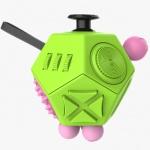 Fidget Cube 12-Side Green, 2435462