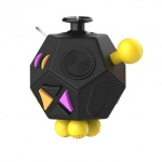 Fidget Cube 12-Side Black, 2435465