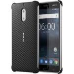CC-802 Nokia Carbon Fibre Case pro Nokia 6 Black (EU Blister)