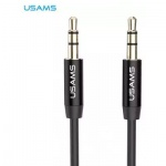 USAMS YP-01 Audio Kabel 3,5/3,5mm Black (EU Blister), 2436964