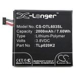 CS-OTL603SL Baterie 2000mAh Li-Pol pro Alcatel One Touch Idol 3 4.7, 2438538
