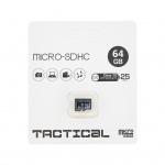 microSDXC 64GB Tactical Class 10 wo/a (EU Blister), 2438542