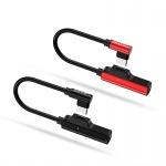 USAMS SJ237 Type-C / 3,5mm Adapter + Type C Adapter Black (EU Blister), 2440129