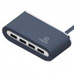 USAMS SJ238 4 Ports USB Hub Blue (EU Blister), 2440130